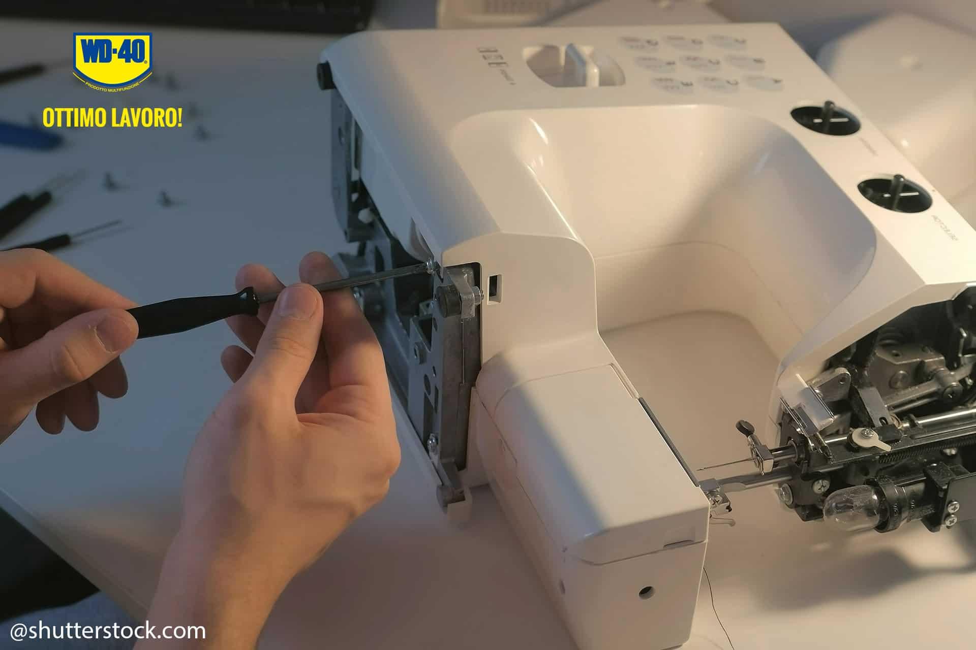 manutenzione macchina da cucire