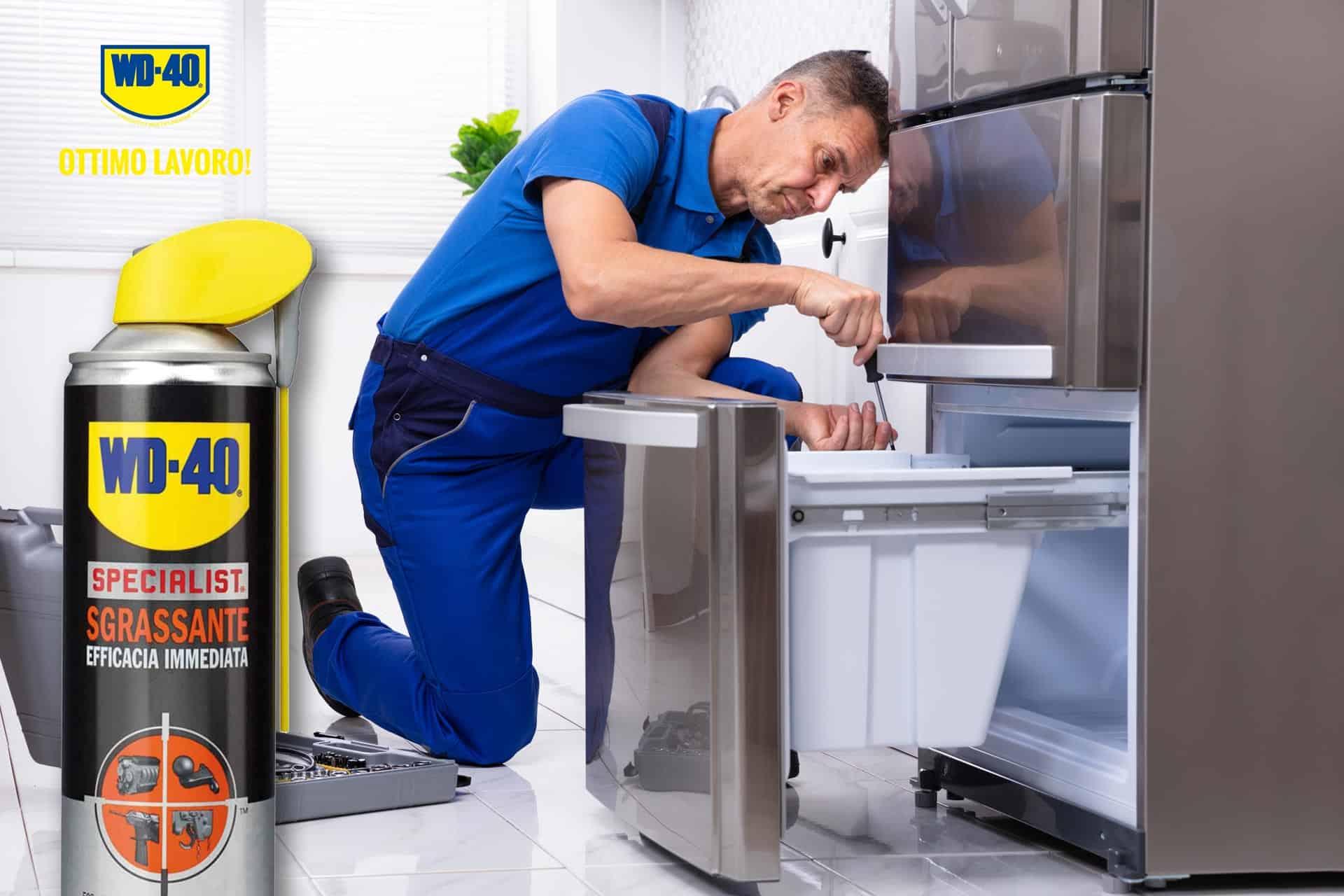 manutenzione frigorifero