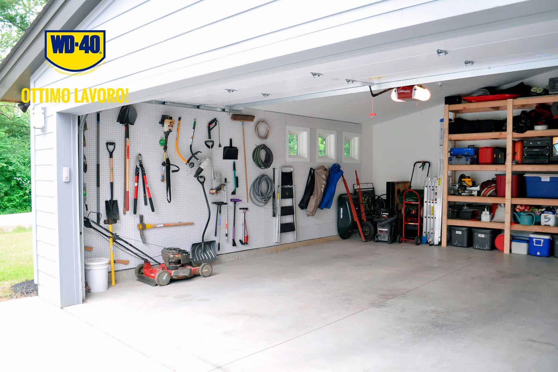 cosa non può mancare nel tuo garage