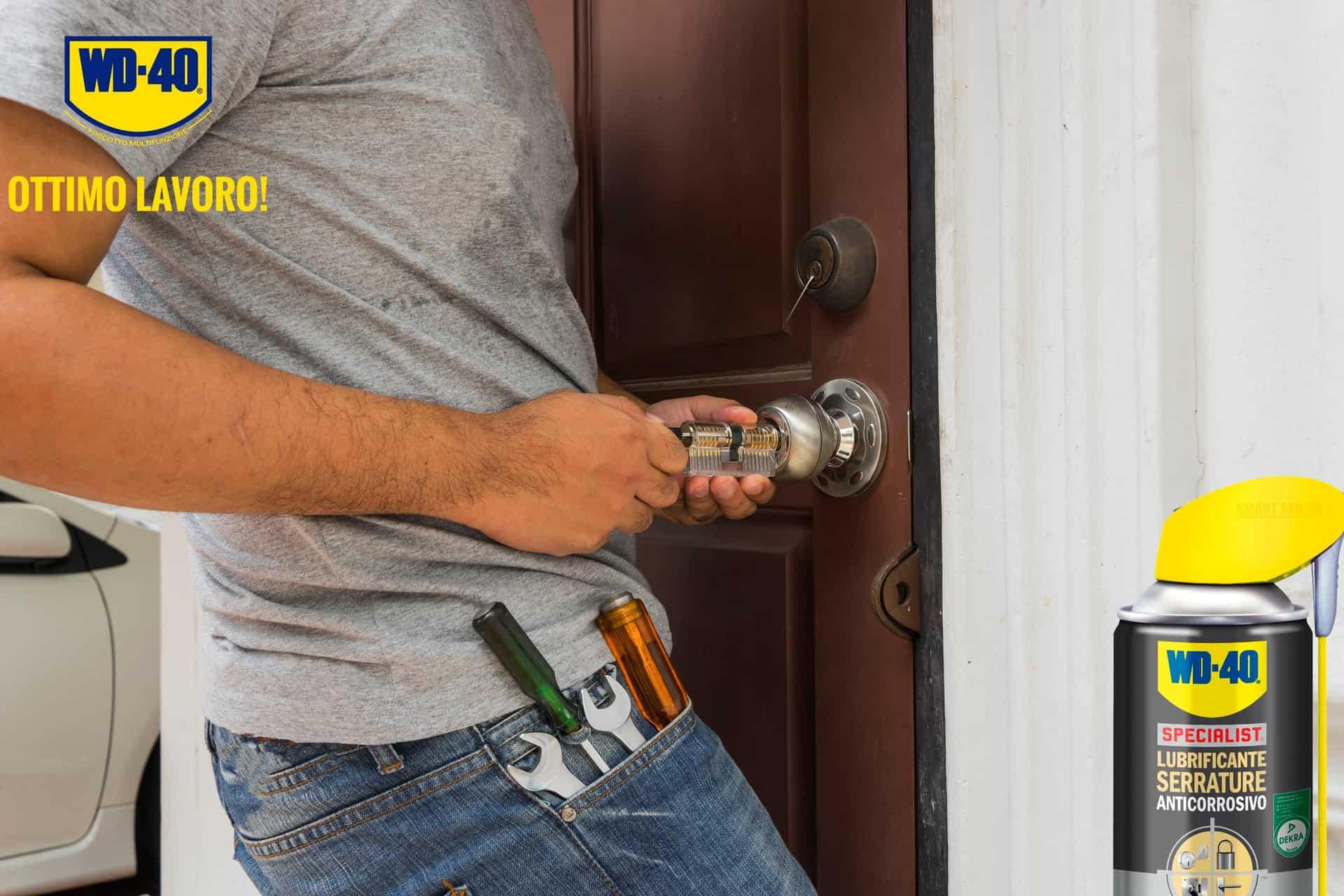 serrature bloccate