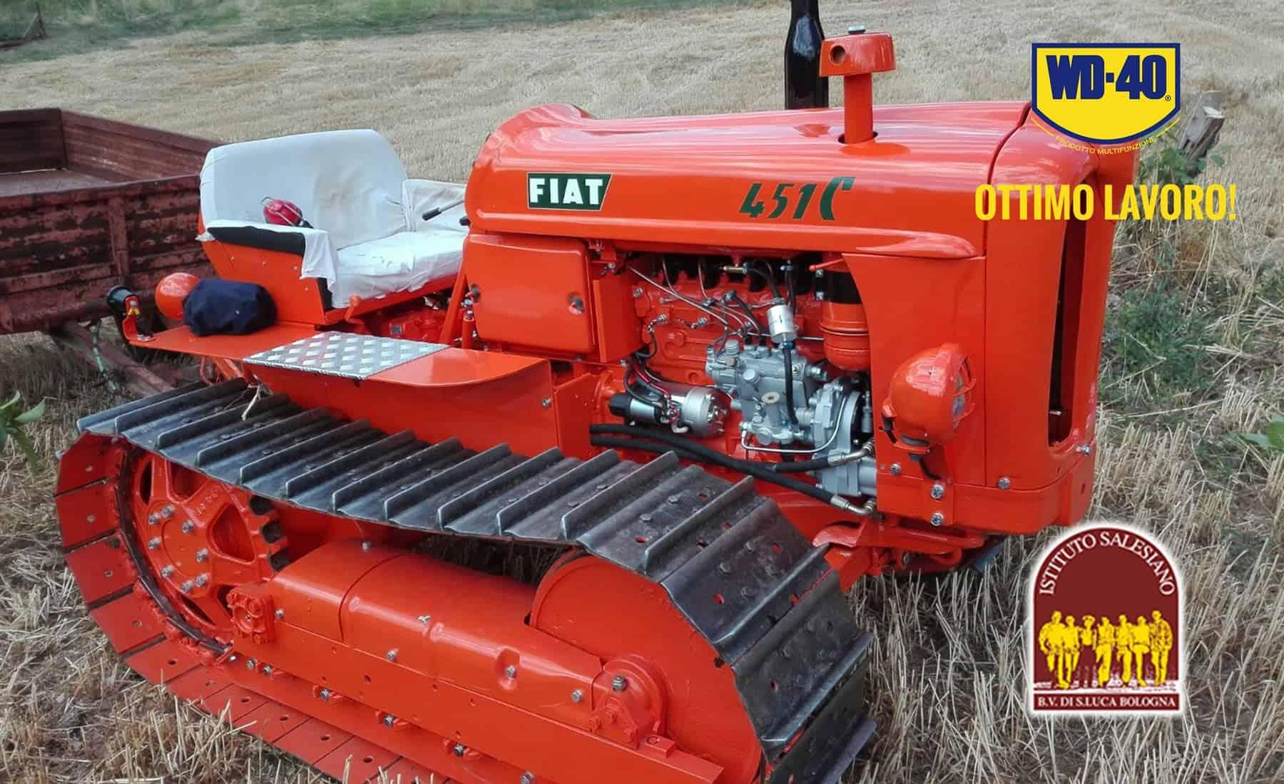 Istituto Professionale testa i prodotti WD-40 sui macchinari agricoli